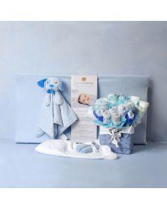 BABY BOY COMFORT & CHANGING SET, baby boy gift hamper, newborns, new parents