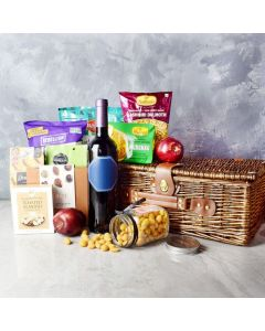 DIWALI GIFT BASKET WITH SPARKLING GIFTS & GOODIES