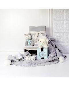 BABY'S FIRST PLUSH & BLANKET GIFT SET, baby gift hamper, newborns, new parents