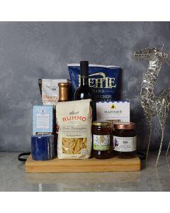 Hanukkah Kosher Wine & Pasta Basket