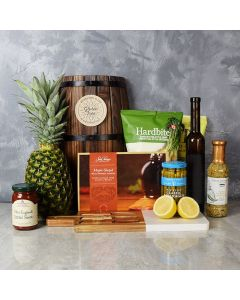WARM SUNNY DAY WITH WINE GIFT BASKET