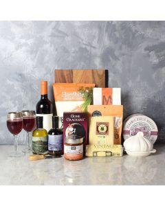 Deluxe Pasta Lover's Wine Basket