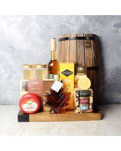 Maple Wonder Wine Gift Set, wine gift baskets, gift baskets, gourmet gifts