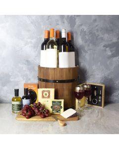 Ultimate Wine & Cheese Barrel