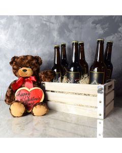 Parkdale Valentine's Day Gift Crate, beer gift crates, gourmet gift crates, Valentine's Day gifts, gift baskets, romance