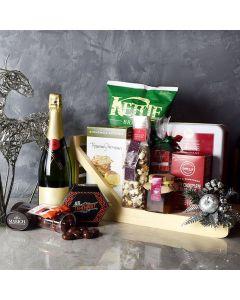 Holiday Champagne & Treats Basket