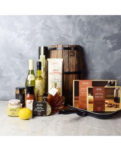 Salmon, Spice & Wine Gift Set, wine gift baskets, gourmet gift baskets, gift baskets, gourmet gifts