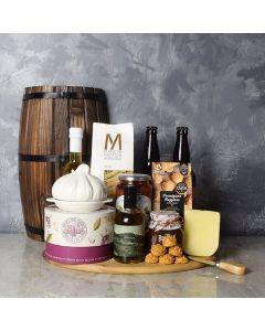 Little Italy Deluxe Craft Beer Basket