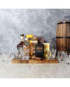Royal Cigar & Liquor Gift Set, liquor gift baskets, gourmet gift baskets, gift baskets, gourmet gifts