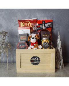 Festive Liquor Crate