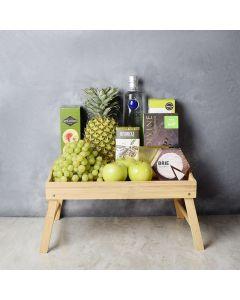 Fresh Fruits & Liquor Gift Set, liquor gift baskets, gourmet gift baskets, gift baskets, gourmet gifts
