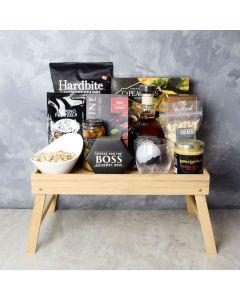Liquor & Refreshment Gift Tray, liquor gift baskets, gourmet gifts, gifts