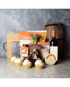 Thanksgiving Wine & Snacks Basket