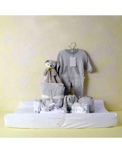 UNISEX COMFORT & CHANGE SET, unisex baby gift hamper, newborns, new parents