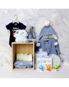 LI'L BOY LUXURY GIFT SET, baby boy gift hamper, newborns, new parents