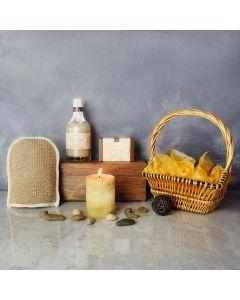 Vanilla Delights Spa Gift Set, spa gift baskets, spa gifts, gift baskets, spa sets