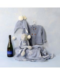 BABY BOY'S COMFORT & CELEBRATION SET, baby boy gift hamper, newborns, new parents