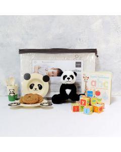 BABY'S TABLEWARE & PLAYSET, unisex baby gift hamper, newborns, new parents