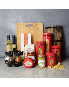 Italian Supper & Spice Set, gourmet gift baskets, gift baskets, gourmet gifts