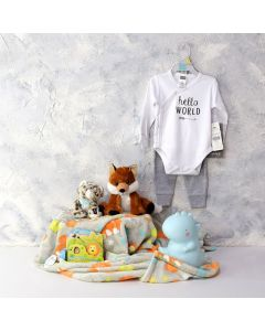 BABY SAFARI TIME PLAYSET, baby boy gift hamper, newborns, new parents