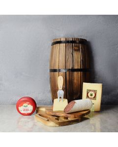 Luxurious Meat & Cheese Gift Set, gourmet gift baskets, gift baskets, gourmet gifts
