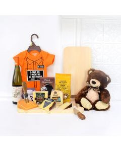 9 Months on the Inside Gift Basket, baby gift basket, welcome home baby gifts, new parent gifts