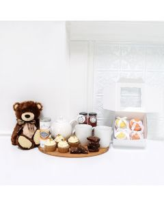 BORN TO BE CUTE GIFT BASKET, baby gift basket, welcome home baby gifts, new parent gifts