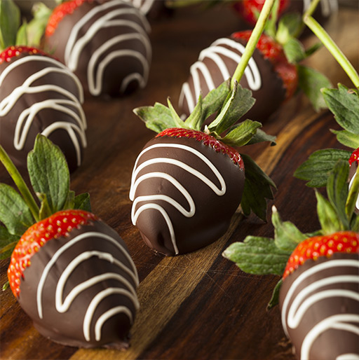 Our Chocolate Dipped Strawberries Gift Ideas for Parents